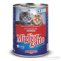 Miglior Gatto Manzo Biftekli Yetişkin Kedi Konservesi 405gr