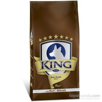 King Plus Beef Dog Biftekli Yetişkin Köpek Maması 15 Kg