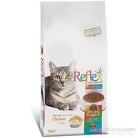 Reflex Cat Multi Colour Tavuklu Renkli Taneli Yetişkin Kedi Maması 15 Kg