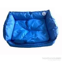 Pet Style Dış Mekan Bahçe Köpek Yatağı Mavi No:1 50 X 40 X 10 Cm