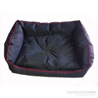 Pet Style Dış Mekan Bahçe Köpek Yatağı Siyah No:3 90 X 70 X 10 Cm