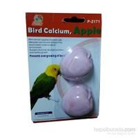 Percell Bird Kalsiyumlu Elmalı Gaga Taşı 2´Li Paket