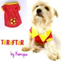 Taraftar By Kemique -Sarı Kırmızı - Köpek Forma L