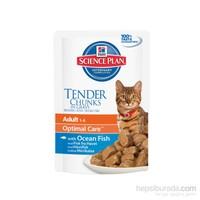 Hill's Science Plan Yetişkin Kedi Balıklı Pouch 85 Gr