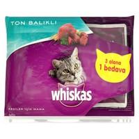Whiskas Pouch Multipack Ton Balıklı 85 Gr X 4