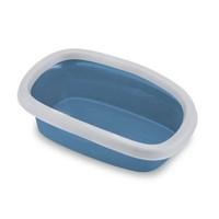 Stefanplast Silvester 10Lt Açık Kedi Tuvaleti Mavi