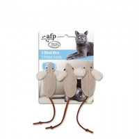 Allforpaws Klasik Komfort - Üç Kör Fare Kedi Oyuncağı