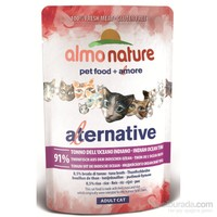 Almo Nature Alternative Cats Hint Okyanus Tunalı Kedi Konservesi 55 G.