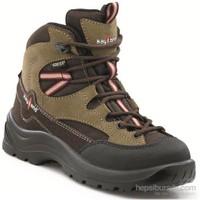 Kayland Duster J Gore-Tex Bayan Hiking Bot Khk024j01 / Kahverengi - 35