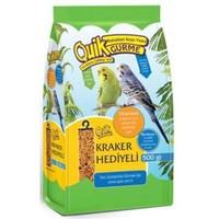 Quik Muhabbet Kuşu Yemi 500 Gr Kraker Hediyeli