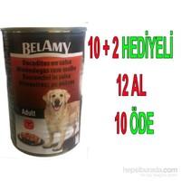 Belamy Tavuklu Yetişkin Köpek Konservesi 1250 Gr x 12