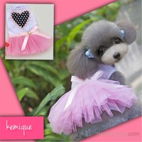Kemique My Heart Tütülü Elbise - Pembe