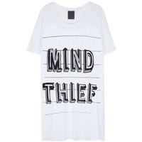 Lot 78 'Mind Thief' Bisiklet Yaka T-Shirt