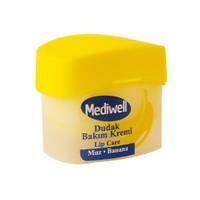 Mediwell Dudak Bakım Kremi - Muz Aromalı