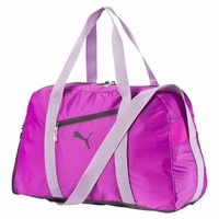 Puma Fit At Sports Duffle Purple Cactus Flowe Çanta