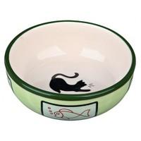 Trixie Kedi Porselen Mama/Su Kabı 0,35Lt/12,5Cm