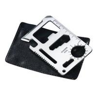 BlueZen Çelik Acil Durum Kartı Survival Kit
