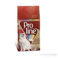 Pro Line Renkli Taneli Tavuklu Kuru Kedi Maması 15 Kg
