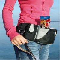 Trixie Eğitmen Bel Çantası siyah/gri 62-125 cm