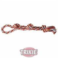 Trixie köpek pamuk ipten örgü diş ipi , 500gr/60cm