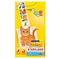 Friskies Sterilised Somonlu Kısırlaştırılmış Yetişkin Kedi Maması 10 Kg