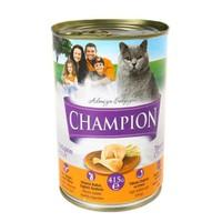 Champion Tavuklu Konserve Kedi Maması 415 Gr 24 Adet