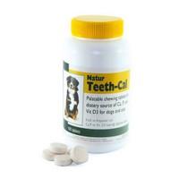 Natur Teeth-Cal Kedi Köpek Kalsiyum Vitamin Tableti 100 Tablet