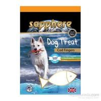 Sapphere Cod Fingers Doğal Kurutulmuş Mezgit Balıklı Köpek Ödülü 75Gr