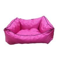 Leos Dış Mekan Küçük Irk Köpek Ve Kedi Yatağı Pembe No:1 50 X 40 X 10 Cm