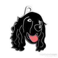 Dalis Pet Tag - Cocker Köpek Künyesi - Siyah (İsimlik)