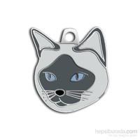 Dalis Pet Tag - Siyam Kedisi Kedi Künyesi (İsimlik)