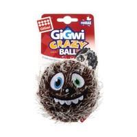 Crazy Ball Çlıgın Kirpi Top Köpek Oyuncağı 6 Cm Kahverengi