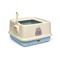 Yüksek Lux Kedi Tuvaleti Gök Mavisi
