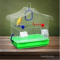 Flip Kıvrık Çatı Kafes Yeşil 33,5*22,5*36Cm