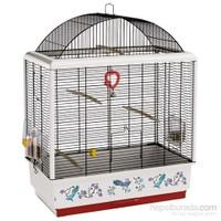 Ferplast Palladio-4 Dekorlu Kuş Kafesi siyah