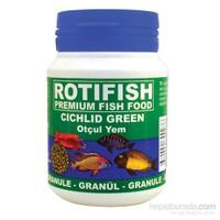 Rotifish Cichlid Green Medium (2 Mm) 100 Ml (45 Gr.) (Otçul Ciklit Balıklarınız İçin)