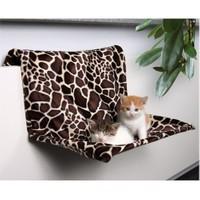 Kediler İçin Radyatör Askılı Peluş Yatak 48 cm