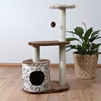 Trixie kedi oyun&tırmalama evi 95 cm, bej/kahve