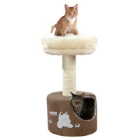 Trixie kedi oyun tırmalama evi 78 cm, kahve/bej