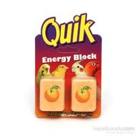 Quik Enerji Bloğu Portakallı 2Li