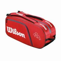 Wilson Federer Team X12 Red Tenis Çantaları