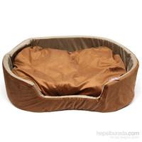 Flip Kedi Oval Yatak Large 90*70*17 Cm