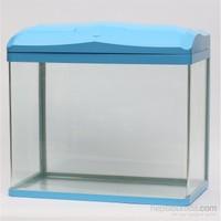 Quık Akvaryum 47Lt Mavi