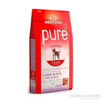Mera Dog Pure Lamb & Rice Kuzulu Ve Pirinçli Yetişkin Köpek Maması 12.5 Kg