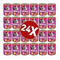 Whiskas Gravy Soslu Sığır Etli Yetişkin Kedi Konservesi 24 X 400 Gr