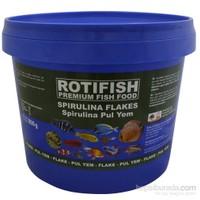 Rotifish Spirulina Flake 800Gr (Spirulina Pul Yem)