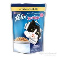 Felix Yavru Kediler İçin Tavuklu Yaş Kedi Maması Pouch 100 Gr