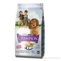 Champion Folik Asit KatkılıTavuk Etli Yavru Köpek Maması 3 kg fd FD*