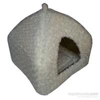 Pet Pretty Kedi Ve Küçük Irk Köpekler İçin Piramit Yuva Beyaz 45 X 45 X 40Cm