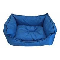 Leos Dış Mekan Küçük Ve Orta Irk Köpek Yatağı No:2 75 X 55 X 10 Cm Mavi